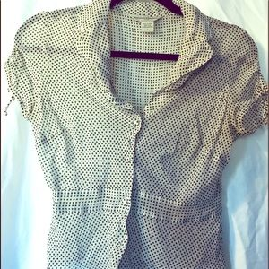 Sheer Silk Vintage Blouse